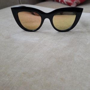 Mirror lenses Cat eye Sunglasses